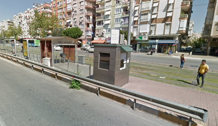 Пополнение карты на проезд в Анталии.